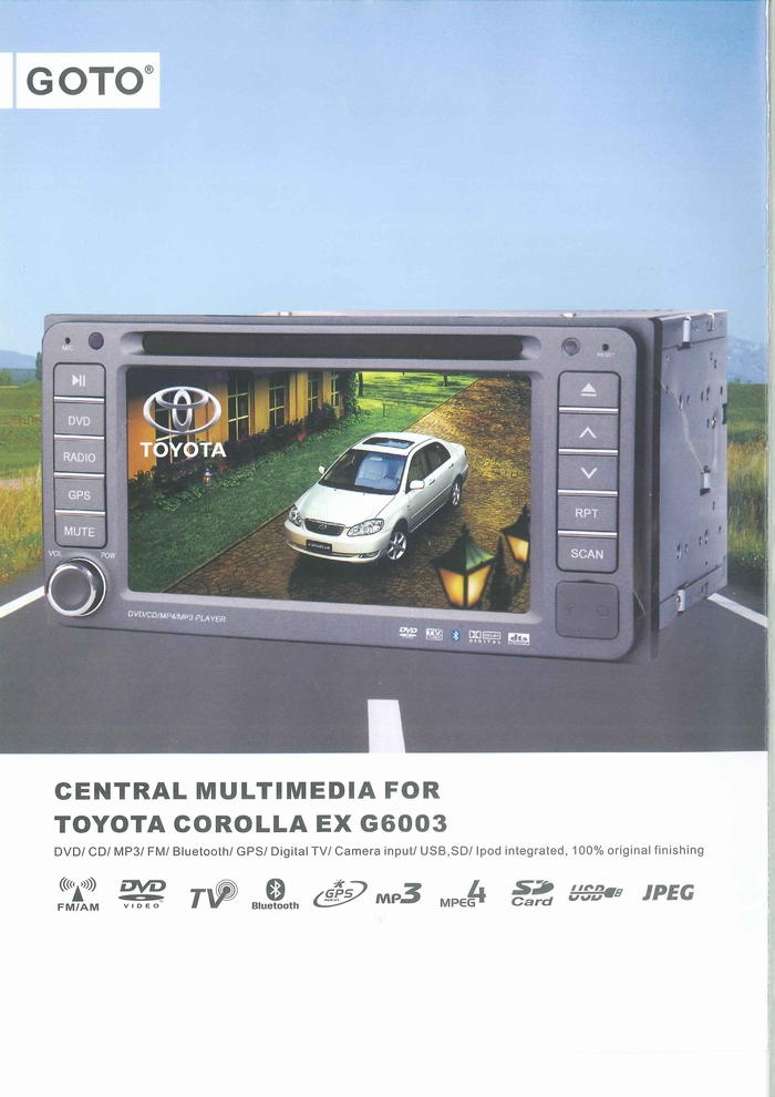 CAR MULTIMEDIA PLAYER PRODUCT